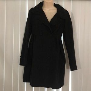 FOREVER 21 Zipper Back Black Dress Jacket XS